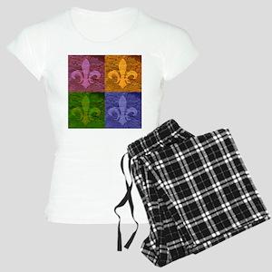Fleur De Lis Art copy Women's Light Pajamas