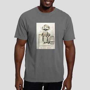 The jolly smoker - 1880 Mens Comfort Colors Shirt