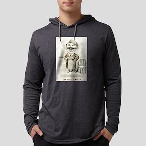 The jolly smoker - 1880 Mens Hooded Shirt