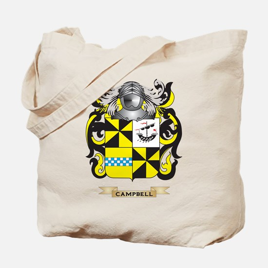 Campbell-2 Coat of Arms Tote Bag