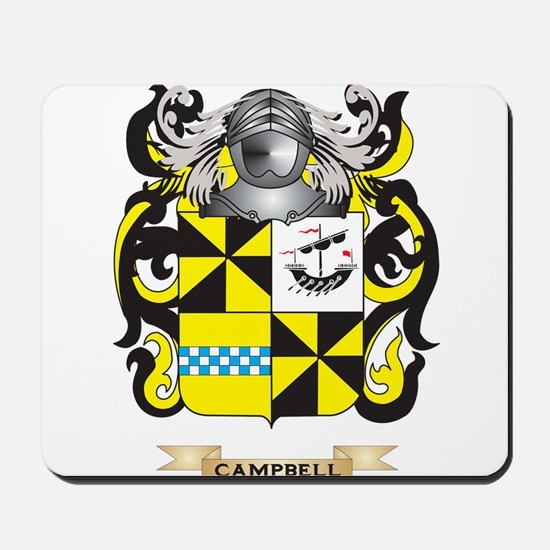 Campbell-2 Coat of Arms Mousepad