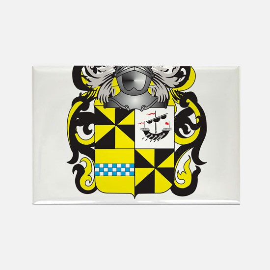 Campbell-2 Coat of Arms Rectangle Magnet