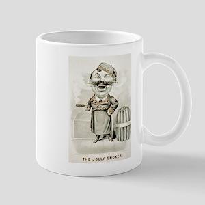 The jolly smoker - 1880 11 oz Ceramic Mug