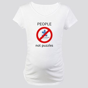 PEOPLE not puzzles Maternity T-Shirt