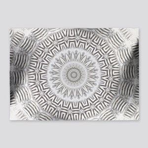 Metal Element kaleido pattern 5'x7'Area Rug
