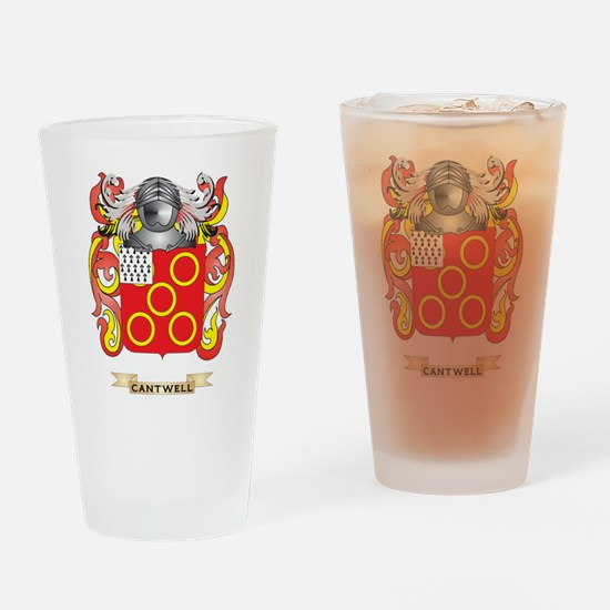Cantwell Coat of Arms Drinking Glass