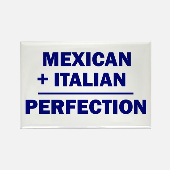 Italian + Mexican Rectangle Magnet