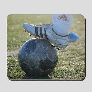 soccer practice Mousepad