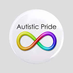 """Autistic Pride 3.5"""" Button"""
