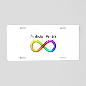 Autistic Pride Aluminum License Plate