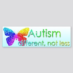 Autism Butterfly Sticker (Bumper)