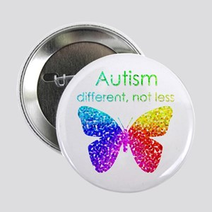 """Autism Butterfly, different, not less 2.25"""" B"""