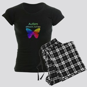 Autism Butterfly, different, not less Pajamas