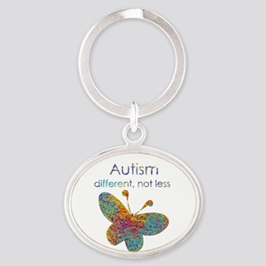 Autism: different, not less Keychains