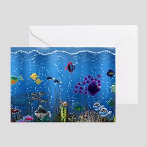 Underwater Love Greeting Card