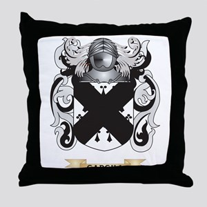 cargill Coat of Arms Throw Pillow