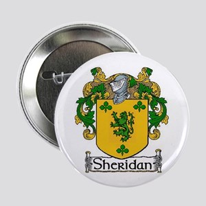 """Sheridan Coat of Arms 2.25"""" Button (10 pack)"""
