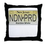 New Jersey NDN Pride Throw Pillow