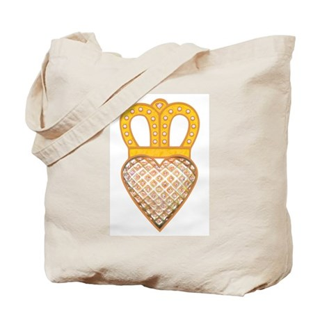 The Hearts Crown Tote Bag