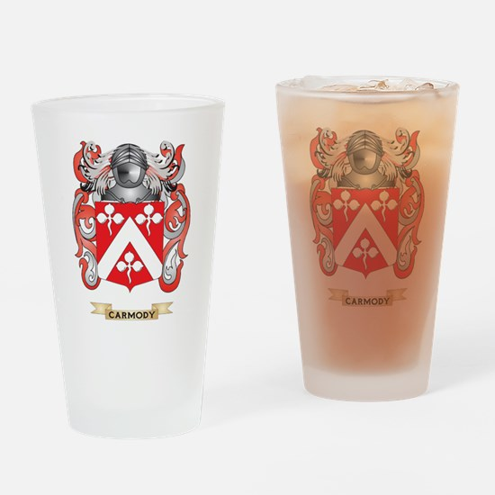 Carmody Coat of Arms Drinking Glass