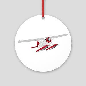 Seaplane Ornament (Round)