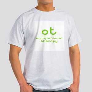 ot occupational therapy Ash Grey T-Shirt