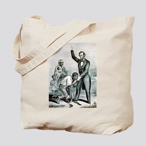 Freedom to the slaves - 1863 Tote Bag