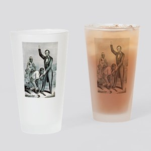 Freedom to the slaves - 1863 Drinking Glass