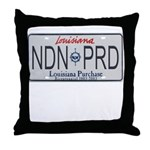 Louisiana NDN Pride Throw Pillow