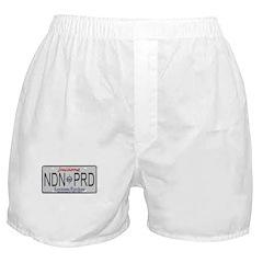 Louisiana NDN Pride Boxer Shorts