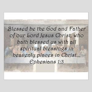 Ephesians 1:3 Posters
