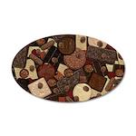 Got Chocolate? 35x21 Oval Wall Decal