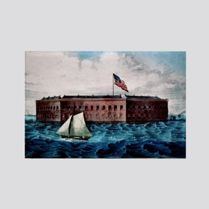Fort Sumter - Charleston Harbor, S.C. - 1870 Magne