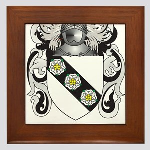 Cary Coat of Arms Framed Tile