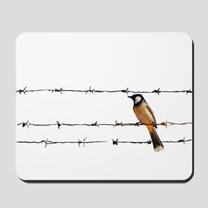 Bird on a Wire Mousepad