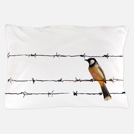 Bird on a Wire Pillow Case