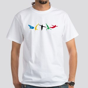 Diving White T-Shirt