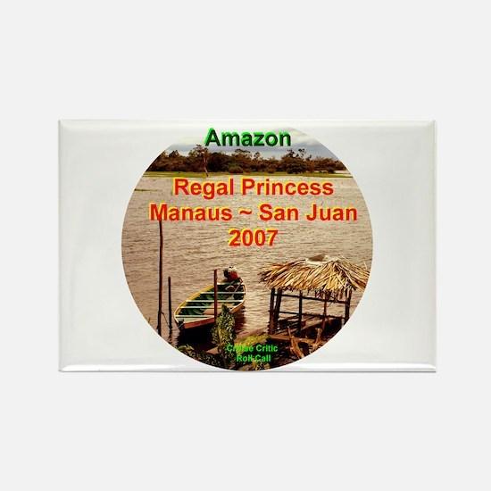 Regal Amazon 2007 Rectangle Magnet