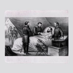 Death of Stonewall Jackson - 1872 Throw Blanket
