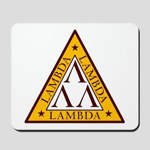 """""""Tri-Lambda"""" Mousepad"""