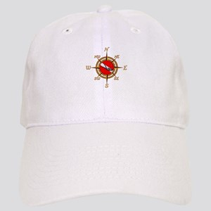 Dive Compass Baseball Cap