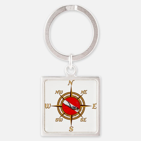 Dive Compass Keychains