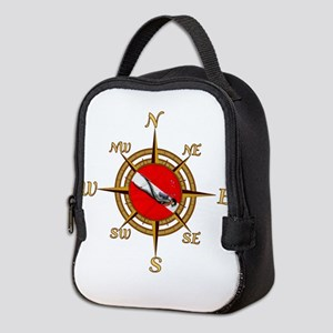 Dive Compass Neoprene Lunch Bag
