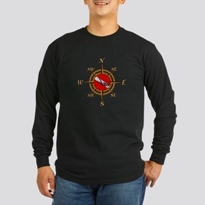 Dive Compass Long Sleeve T-Shirt