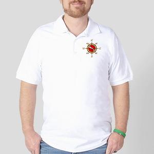 Dive Compass Golf Shirt