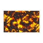 Hot Lava 20x12 Wall Decal