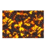 Hot Lava Postcards (Package of 8)