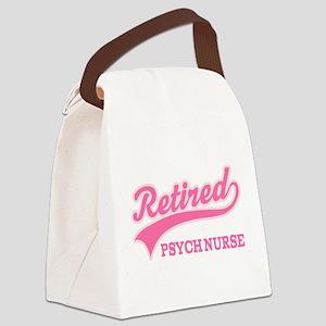 Retired Psych Nurse Canvas Lunch Bag
