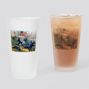 Capture of Roanoke Island - 1862 Drinking Glass