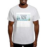 Virginia NDN Pride Ash Grey T-Shirt